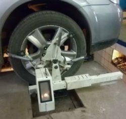Развал-схождение колеса